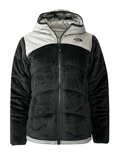 The North Face Youth GIRLS REVERSIBLE Perseus Insulated JACKET (M 10/12, Tnf Black) by The North Face