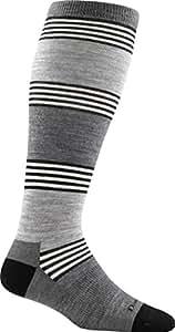 Darn Tough City Block Knee High Light Sock - Women's Pewter Small