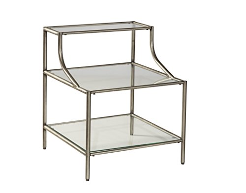 Hillsdale Glass - Corbin Step Table With Three Glass Shelves