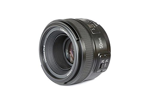 (YONGNUO YN50mm F1.8N Standard Prime Lens Large Aperture Auto Manual Focus AF MF for Nikon DSLR Cameras)