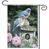 Bluebird Garden Flag Home Decorative Watering - 1PCs