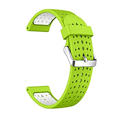 Outgeek Watch Band Silicone Watch Strap Dual Color Watch Replacement Strap for Samsung Gear S3 by Outgeek