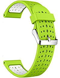 Outgeek Watch Band Silicone Watch Strap Dual Color Watch Replacement Strap for Samsung Gear S3