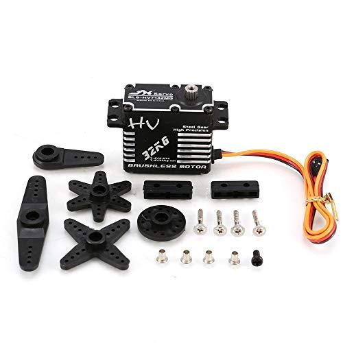 KNOSSOS JX BLS-HV7132MG BLS-HV7132MG BLS-HV7132MG 32KG Metalllenker-Digitalgetriebe HV Brushless-Servo für RC-Car b90f81