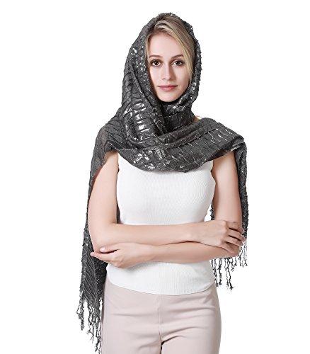 R.C.Y. Sun Proof Multi-purpose Eye-catching Wrap Stole Shawl Scarf Hijab