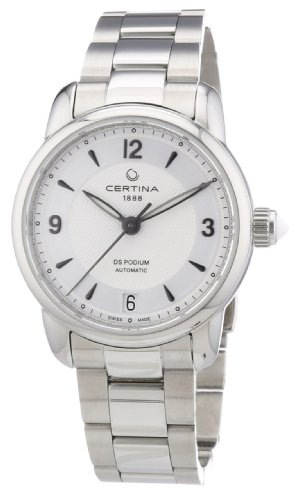 Certina C025.207.11.037.00 - Women's Watch, Stainless Steel, SIlver Tone
