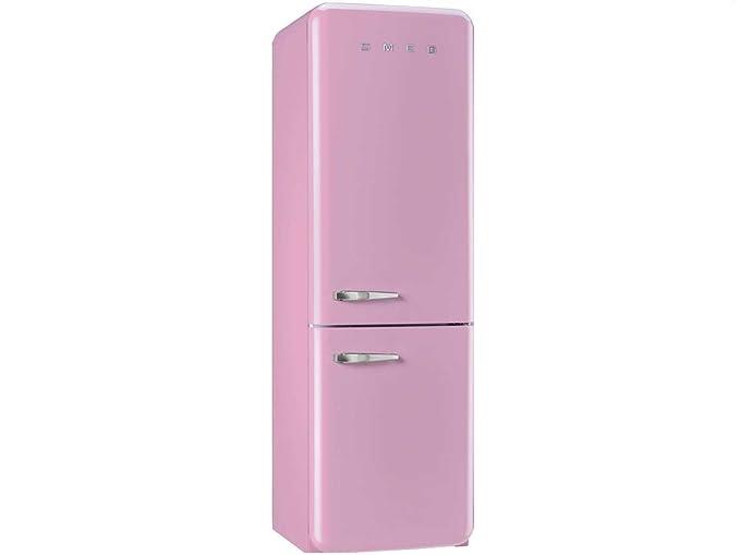 Amica Kühlschrank Pink : Smeg kühl gefrierkombination fab32rron1 cadillac pink rechtsanschlag