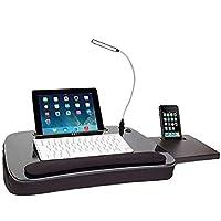 Sofia+Sam Escritorio Portatil Estación de Trabajo para Tablet y Lap Top Ergonómica con Memory Foam