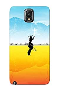 Fashionable Style Case Cover Skin Series For Galaxy Note 3- Angel Or Devil