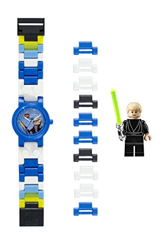 LEGO Quartz Plastic Watch, Color:Blue (Model: 8020356)