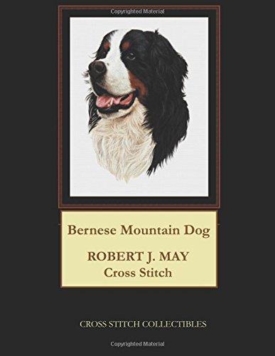 Bernese Mountain Dog Counted Cross Stitch Pattern