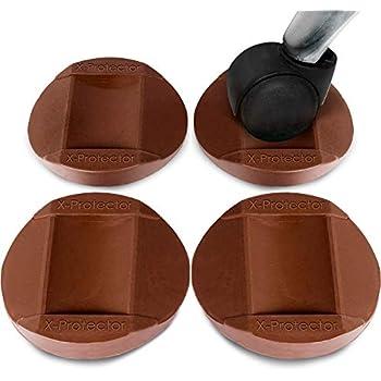 X Protector Furniture Cups 4 Pcs Premium Rubber Caster