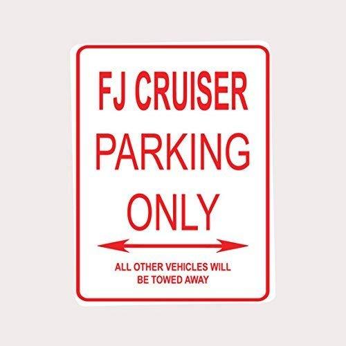 Ditooms FJ Cruiser Parking ONLY Aluminum Street Sign