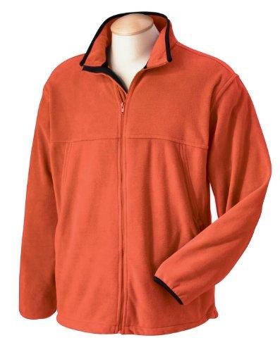 Chestnut Hill CH900 Mens Microfleece Full Zip Jacket. - Sienna