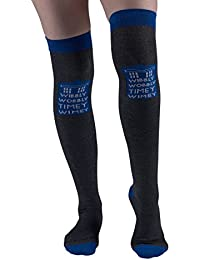 Doctor Who-1 Pair Over The Knee High Socks-Size 4-10