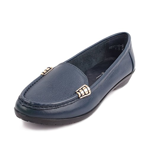 Zapatos de mediana inferior edad Zapatos mujeres zapatos Mitad las y de mujer suave de mamá Zapatos de edad de B de mujeres de Zapatos trabajo rtwqO4Arx