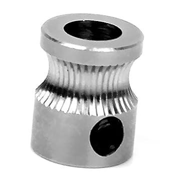 Engranaje - SODIAL(R) MK8 Extrusora agujero de 5 mm de engranajes ...