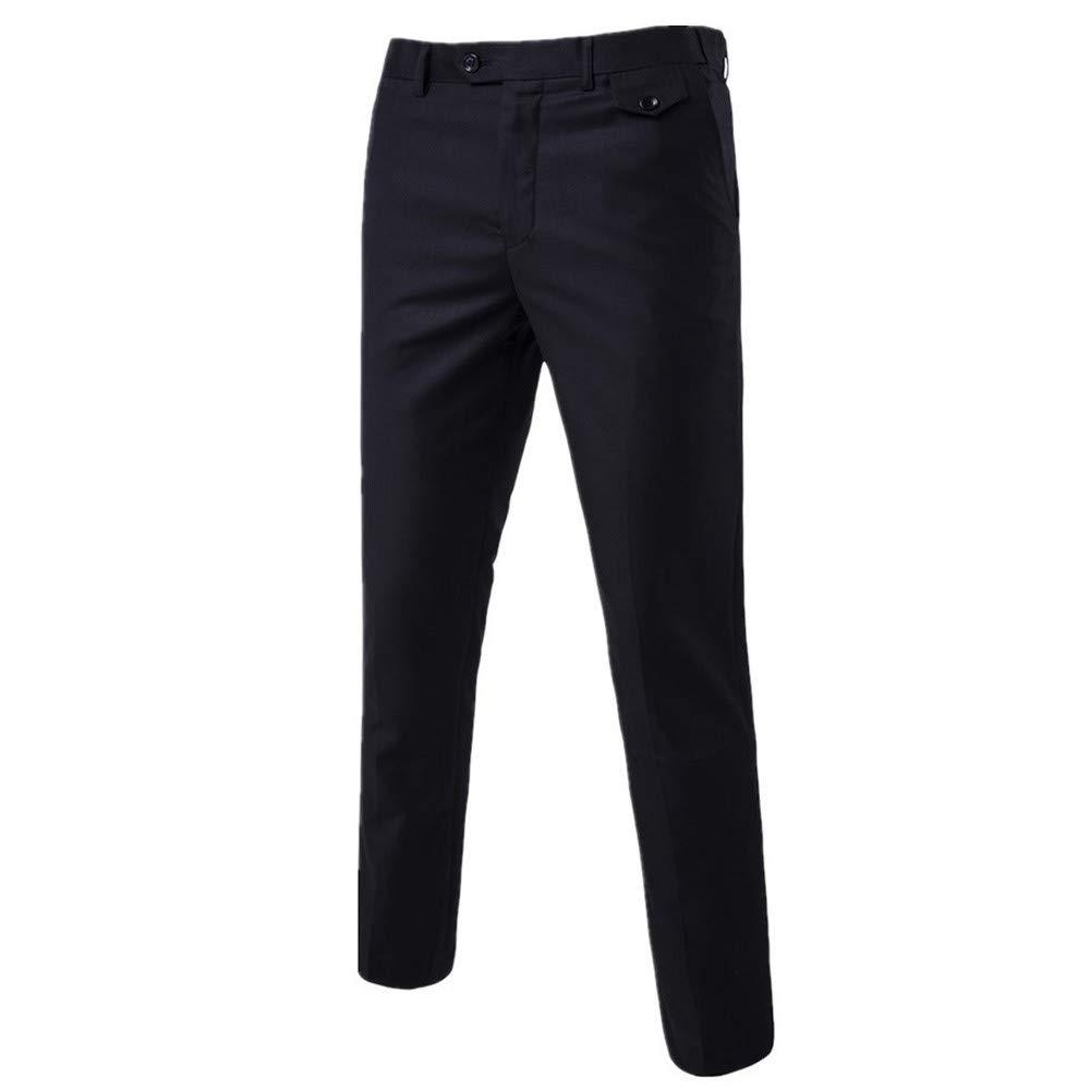 iYBUIA Mens Stretch Slim Fit Suit 3-Piece Suit Blazer ...