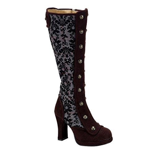 Demonia Crypto-301 - gothique punk Steampunk mini plateau bottes chaussures femmes 36-43
