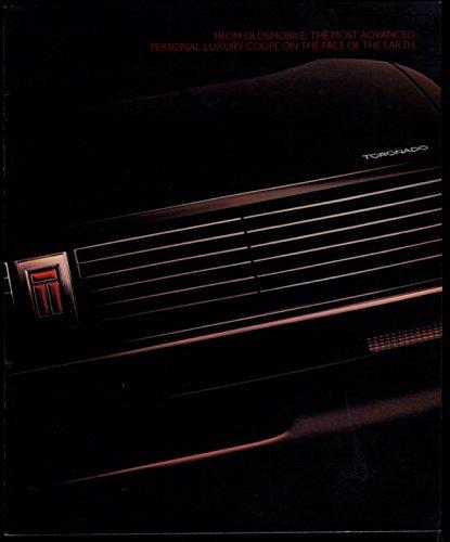 1986 Oldsmobile Toronado sales brochure