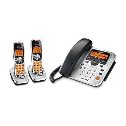 amazon com uniden dect1588 2 dect 6 0 corded cordless digital rh amazon com Uniden Phone 3000 Series uniden dect1588-5 manual