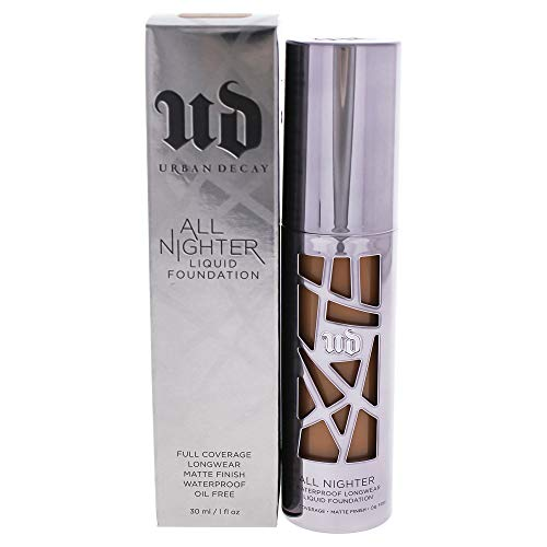 Urban Decay All Nighter Liquid Foundation, 10.0 Dark Brown, 1 Ounce