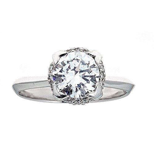 - Tacori Platinum & Diamond Engagement Ring