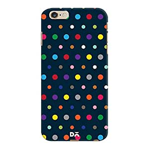 DailyObjects Coloured Dots Case For iPhone 6 Plus