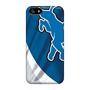 New Detroit Lions Tpu Case Cover, Anti-scratch INs3207bxuy Phone Case For Iphone 5/5s