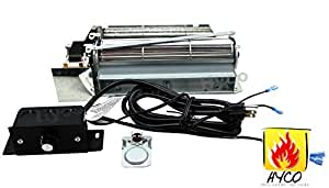 bbq factory® FBK-250 Replacement Fireplace Blower Fan KIT for Lennox, Superior, Rotom HB-RB250