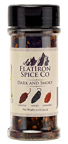 Flatiron Spice Co - Dark and Smoky. Premium Chile Flakes (Chile Habanero Chili Pepper)