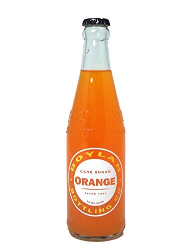 12 Glass Soda Oz (Boylan Orange Soda, 12 Ounce (12 Glass Bottles))