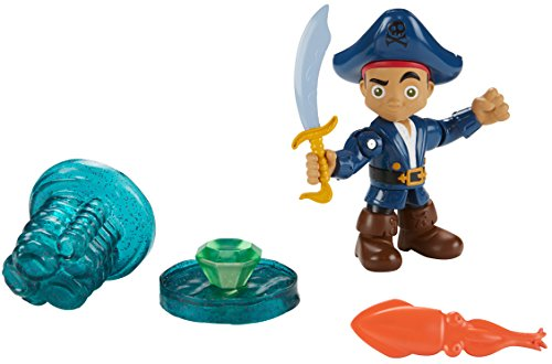Fisher-Price - Disney Captain Jake and the Never Land Pirates - Buccaneer Battling Captain Jake (Peter Pan Jake And The Neverland Pirates)