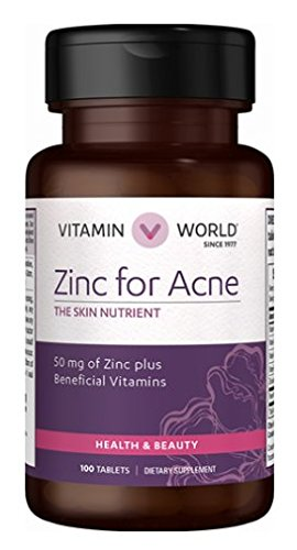 Amazon Com Zinc For Acne The Skin Nutrient 50mg Of Zinc Plus