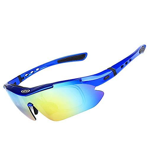 Lunettes Blue extérieures Protection SP0868 2 de pour Hommes WEATLY pour Lunettes Color 5 de Clarity Soleil Lunettes de Soleil polarisées Black UV400 Cxfq0Rwx