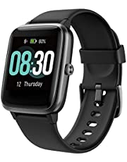 UMIDIGI Smart Watch, Fitness Tracker with Heart Rate Monitor, Activity Tracker for Android Phone, 5ATM Waterproof Pedometer Smartwatch with Sleep Monitor, Step Counter for Women and Men-Uwatch3.