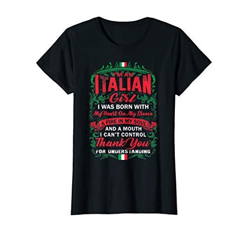 Italian Shirt - Proud To Be An Italian Girl