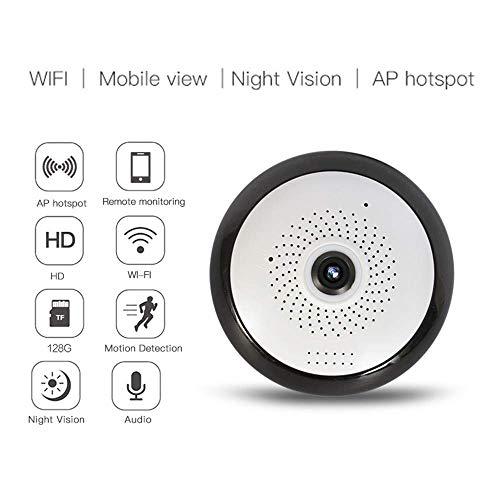 Tao-Miy Cámara panorámica de 360 Grados, cámara de Movimiento esférico WiFi Cámara panorámica HD (1280 * 960P)...