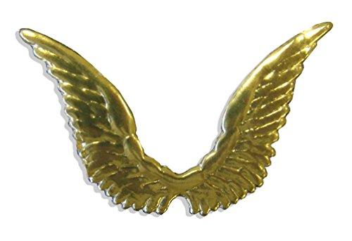 Kunze 10-Piece Celestial Dresden Angel Wings, Gold