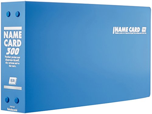 Price comparison product image Nakabayashi business card holder Holds 300 Buruho M-N3B (japan import)