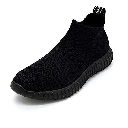 Zapatos Mujer Negro Resbalar Zapatillas Deportivos Mujer Primavera Sock Rojos Pisos Zapatillas XINGMU Malla Calcetines Calzado De Transpirable En fSAq8wxO