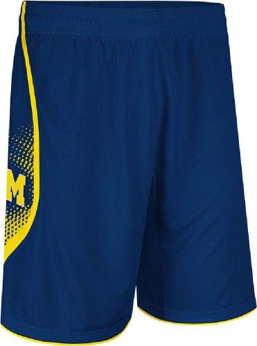 (NCAA adidas Michigan Wolverines Point Guard Basketball Shorts - Navy Blue (Medium))