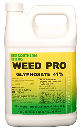 (Southern Ag Weed Pro Glyphosate 41% Grass & Weed Killer, 1 Gallon)