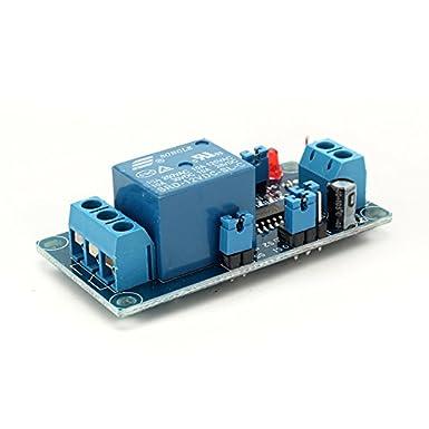 Ladicha 12v Einschaltverzögerung Relaismodul Verzögerungsschaltung Modul Ne555 Chip Gewerbe Industrie Wissenschaft