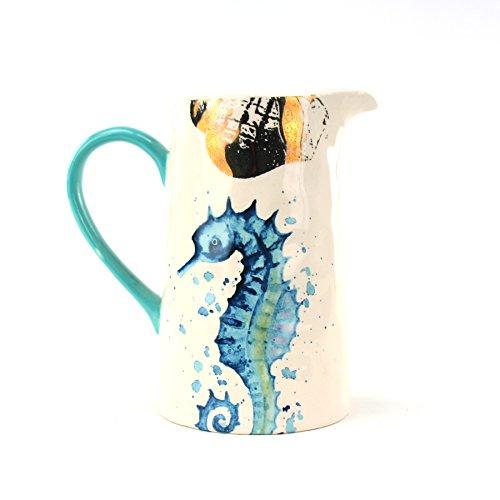 Coastal Collection Seahorse 35 oz. Pitcher