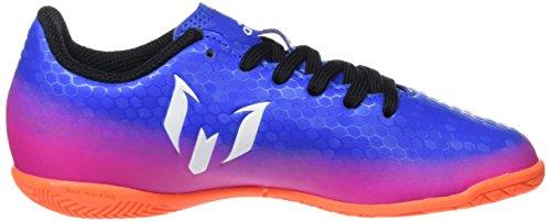 adidas Messi 16.4 In J, Zapatillas de Fútbol Unisex Niños Azul (Blue/ftw White/sorang)