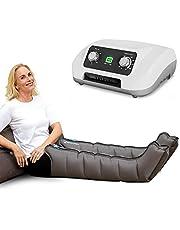Vein Angel 6 Equipo de Presoterapia Profesional con botas para las piernas, 6 cámaras de aire, presión y tiempo fácilmente configurables