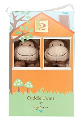Angel Dear Cuddle Twin Set Brown Monkey by Angel Dear