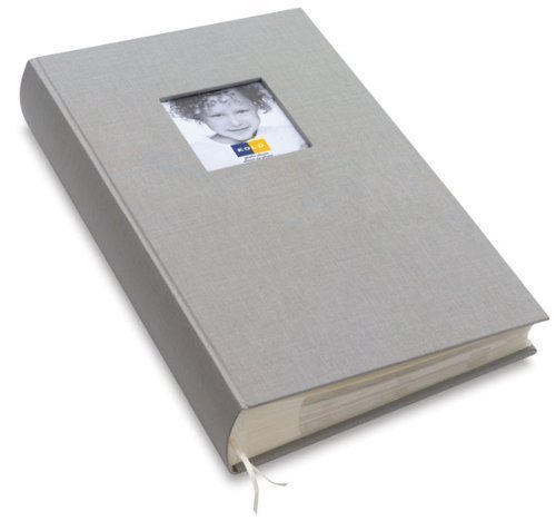New 'Hudson' platinum 6-at-a-time cloth book-bound by Kolo - 4x6 by Kolo LLC