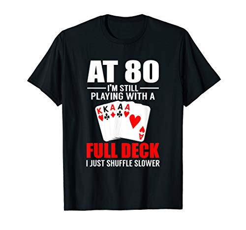 Special 80th Birthday Poker Shirt | Vintage 1939 Dude -
